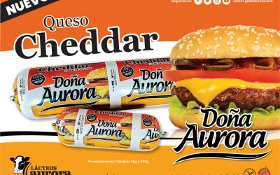 Nuevo Queso Cheddar Doña Aurora