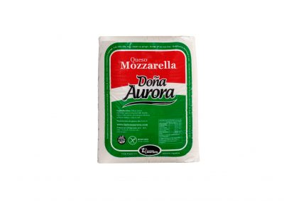 Queso Mozzarella Doña Aurora de Lácteos Aurora 10Kg aprox.