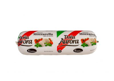 Queso Mozzarella Doña Aurora de Lácteos Aurora 5Kg aprox.